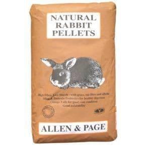 A&p natural rabbit pellets